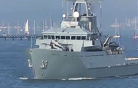 HMS Mersey Heads to the Caribbean
