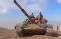 SAA Hezbollah Backed by Russian Air