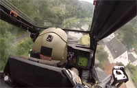 Thrilling Apache Low Level Flight