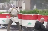 Chaos on Syrian Streets