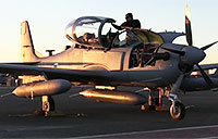 A-29 Super Tucanos Land in Afghanistan