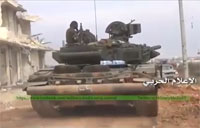 Syrian Army Troop Movements