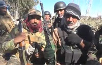 Iraqis Fight ISIS North West of Fallujah