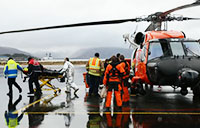 Coast Guard Medevacs Two Injured Men
