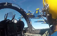 Cockpit Video Blue Angels Super Bowl 50 Flyover