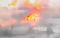 Destruction of Armored ISIS VBIED