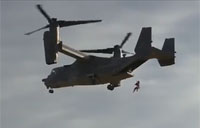 Spec Ops Fast Rope Off Osprey
