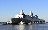 Future USS Portland (LPD 27) Launched