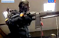 Russian Full Body Military Exosuit