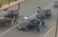 Presidential Convoy Attacked