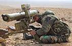 ATGMs Pound ISIS in Palmyra