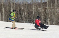 Disabled Veteran Winter Sports Clinic: Day 1