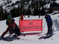 Veteran Winter Sports Clinic: Therapist and Patient on the Slopes