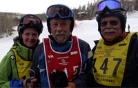 Disabled Vet Winter Sports Clinic: Skiing with an Amputee