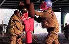 Marine Boot Camp: Pugil Stick Fights