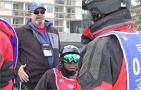 Coaching Up Disabled Veterans at Winter Sports Clinic