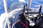 U.S. Fast Attack Submarine: Topside in the Conning Tower