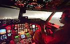 Landing A USAF Stratotanker At Night: Cockpit View