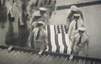WWII Burial Ceremony of U.S. Servicemen at Tonga Tabu