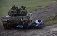 Bundeswehr Tank Crews Perform In Competition: Leopard 2A6