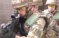 U.K. Royal Marines Hone Live Firing Skills in Germany