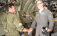 U.S. Air Force C-130J Super Hercules Training In Israel