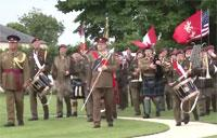 British D-Day Heroes: Veterans Lay Wreaths at Bayeux Cemetery