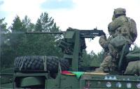 .50 Caliber Machine Gun Weapons Firing