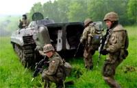 Polish Army Conduct Ambush Training