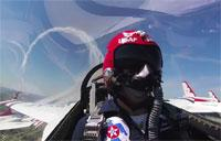 U.S. Air Force Thunderbirds Perform at Scott Air Force Base