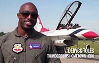 Thunderbirds Hometown Hero: Deryck Toles