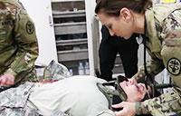Grafenwoehr Army Health Clinic Advanced Trauma Life Saving Exercise