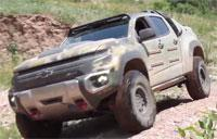 Army Tests Extreme Off-Road Electric Vehicle: Colorado ZH2