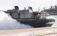 LCAC Amphibious Vehicle: Cockpit View During Talisman Saber
