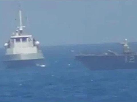 IRGCN Unsafe and Unprofessional Interaction With US Navy Ship ...