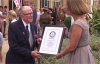 British Skydiving Veteran Honored After Smashing Record