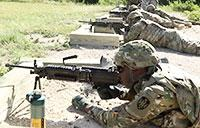 Soldiers Test Their Skills at Rifle Range