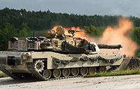M1A2 Tanks Bounding & Searching For Targets