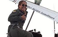 SSgt Kaitlyn Lamolinara Soars Over Massachusetts