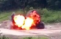 U.S. Marines, Japan Ground Self-Defense Force Detonate Explosives