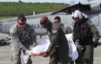 Navy Helicopters Assist With U.S. Virgin Islands Relief