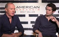 'American Assassin' - Michael Keaton & Dylan O'Brien Interview