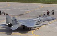 USAF F-15 Eagles In Lithuania: NATO Baltic Air Policing