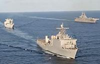 U.S. Navy Ships in the Caribbean