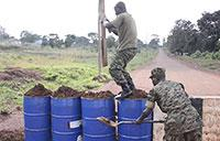 U.S. Marines Train Uganda People's Defence Force Soldiers