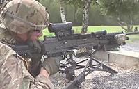 U.S. Army: M240 Bravo Machine Gun