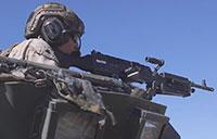 U.S. Marines LAR: Firing The M242 Bushmaster Chain Gun