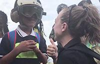 Sailors and Marines Provide Aid to Dominica Evacuees