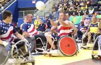 Invictus Games: Wheelchair Rugby