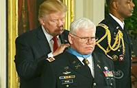 President Trump Awards Medal of Honor to Capt. Gary M. Rose